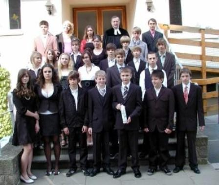 Gruppe Pfarrer Biesold 3. Mai 2009
