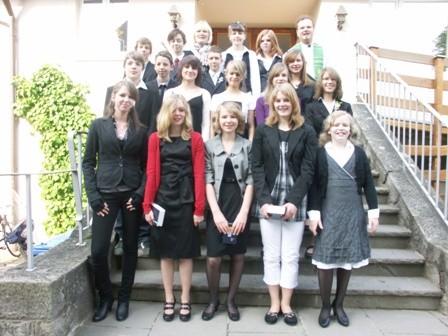 Gruppe Diakon Bühling 2. Mai 2009