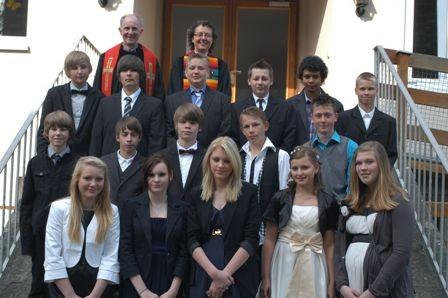Gruppe Pfarrerin Ehrmann/Pfarrer Molinari 14. Mai 2011