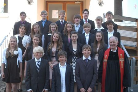 Gruppe Pfarrer Molinari 8. Mai 2011