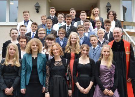 Gruppe Pfarrer Molinari 3. Mai 2014